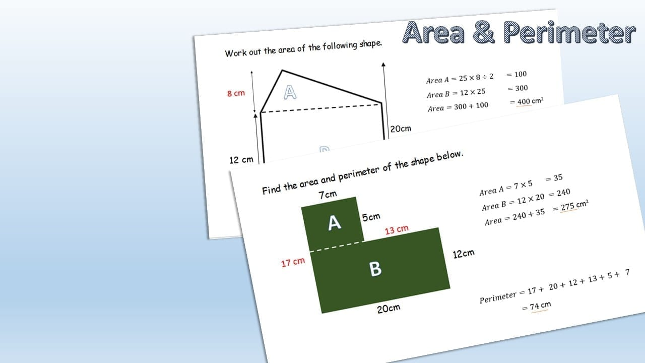 Area of irregular shapes lesson planned lesson planned ccuart Choice Image