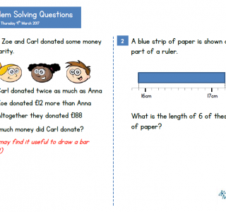 Reasoning and Problem Solving Questions KS2