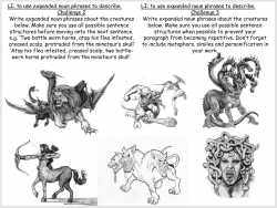 Greek Myths Mythical Creatures KS2