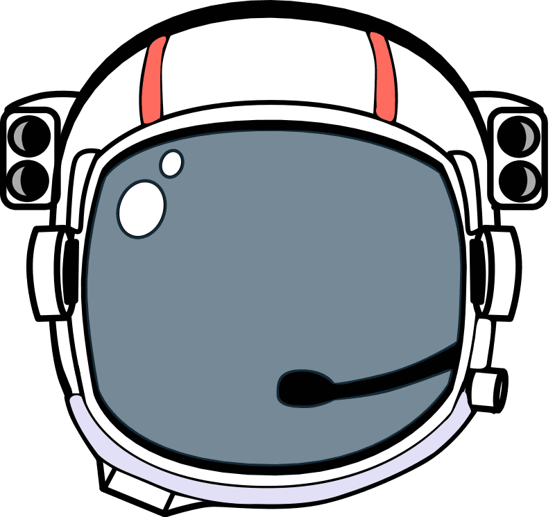Space Astronaut Helmet Art Lesson Plan