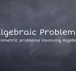 Algebraic Problems ReallyUsefulMaths